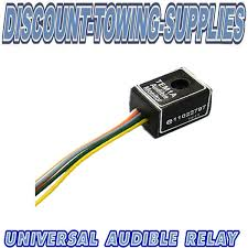 universal towbar towing electric audible buzzer warning relay for