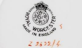 Image result for dating royal worcester porcelain