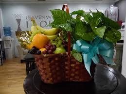 fruit basket gifts plant and fruit basket in leavenworth ks leavenworth floral and