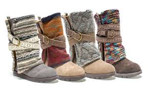 s fashion winter boots canada muk luks fashion winter boots groupon goods