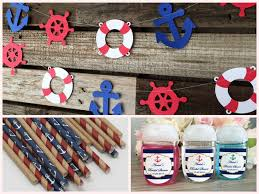 anchor baby shower ideas nautical baby shower decorations and party favors baby shower
