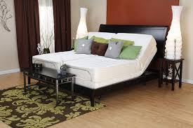 adjustable metal bed frame couple get good sleep with adjustable