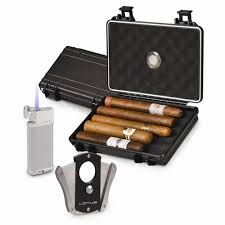 cigar gift set travel humidor gift set lighter cigar cutter