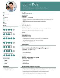 Good Resume Builder Website by 50 Most Professional Editable Resume Templates For Jobseekers