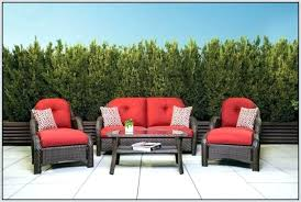 Lazy Boy Wicker Patio Furniture by Patio 5 Piece Patio Seating Set With Fire Pit Patio Dining Sets