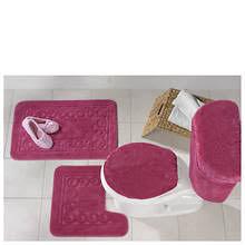 5 Piece Bathroom Rug Sets by 5 Piece Scroll Bath Rug Set Gallery