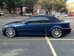 Bmw M3 Convertible - e46 2003 5 bmw m3 convertible mystic blue 19