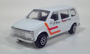 diecast toy van scale models