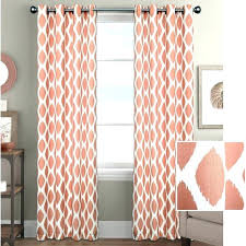 Gray And Pink Curtains Coral Bedroom Curtains And Gray Woodio