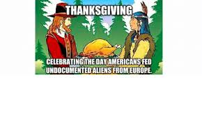 thanksgiving celebrating the dayamericans fed undocumentedaliens