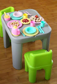 step2 table and chairs green and tan sparkling step2 table and chairs pictures gallerychairs com