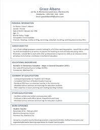 Resume Models For Mba Impressive Resume Format 25 Latest Sample Cv For Freshers In Wo
