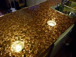 Two Part Epoxy Resin Bar Top Install A Penny Countertop In Your Kitchen Make