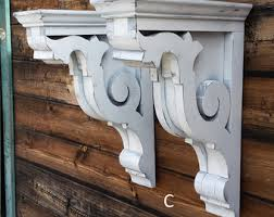 Mission Style Corbels The Weathered Wood Shop By Theweatheredwoodshop On Etsy