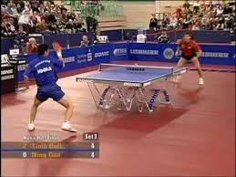 ping pong table playing area the best table tennis players youtube