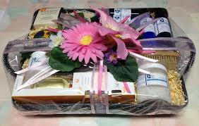 best friend gift basket healing gift basket blissful balance