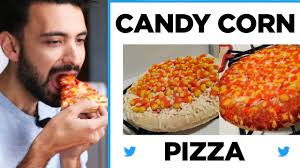 Candy Corn Meme - we tried the candy corn pizza trend youtube
