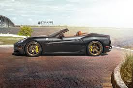 Ferrari California Black - strasse wheels ferrari california 10 images this black ferrari