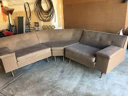 Vintage Sectional Sofa 116 Best Vintage Sectionals Images On Pinterest Mid Century