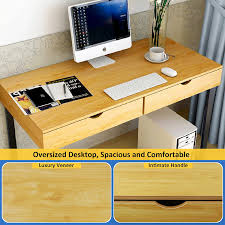 home office colors amazon com tribesigns computer desk modern stylish 47