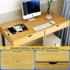 Writing Desk Accessories by Amazon Com Tribesigns Computer Desk Modern Stylish 47
