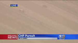 suspect in custody after leading officers on pursuit through suspect in custody after leading officers on pursuit from west la through grapevine
