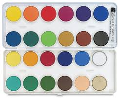 talens watercolor pan sets blick art materials