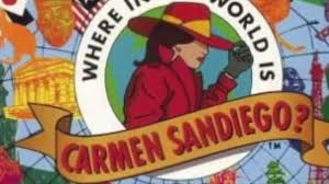 from pilot to final product where in the world is carmen sandiego