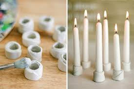 beautiful and simple diy candle holders projects that you can