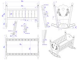 Convertible Crib Plans Build A Furniture With Plan Guide Convertible Baby Crib