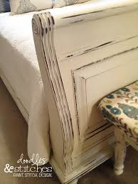 Paint A Headboard by Painted Sleigh Bed Doodles U0026 Stitches Guest Room Pinterest