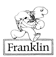franklin coloring pages franklin the turtle coloring pages