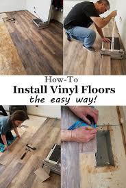 Vinyl Plank Flooring Underlayment Installing Vinyl Floors A Do It Yourself Guide Flooring
