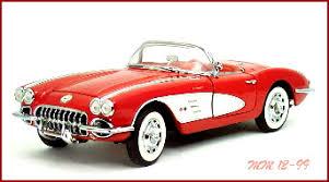 59 corvette convertible 1959 corvette convertible diecast model legacy motors