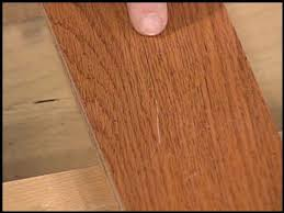 techniques for hiding furniture and hardwood floor scratches