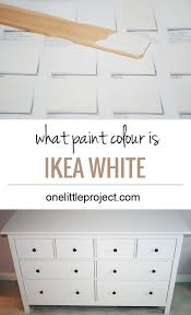 ikea kitchen cabinet touch up paint what paint colour is ikea hemnes white