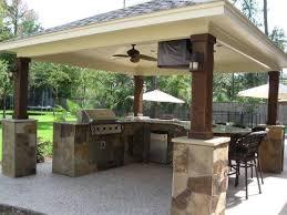 covered outdoor kitchen designs rolitz
