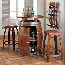 Barrel Bistro Table Half Barrel Bistro Table Barrels Tabletop And Pine Comfortable