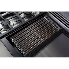 Cooktop With Griddle And Grill Dcs Professional 48 Inch 4 Burner Propane Gas Range With Grill
