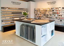 porcelanosa showroom by rabaut design associates porcelanosa