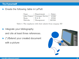 Make A Table In Latex Scientific Research Scientific Writing And Bibliographic Research