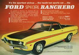 ranchero car directory index ford trucks 1971