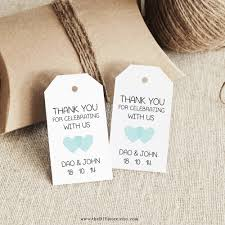 Thank You Tags Wedding Favors Templates by Favor Tag Template Printable Small Design