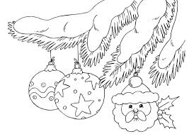 coloring page christmas ornaments img 23375