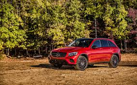 car mercedes red mercedes benz amg glk class red car suv wallpaper wallpapersbyte