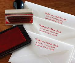 return address wedding invitations rubber st return address envelope letterpress wedding