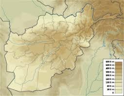kabul map kabul
