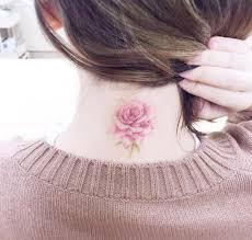 tattoo neck care 40 beautiful back neck tattoos for women tattooblend