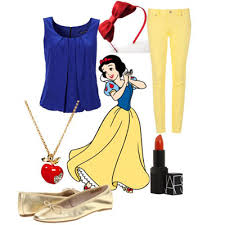 how to dress like disney princess characters clothing