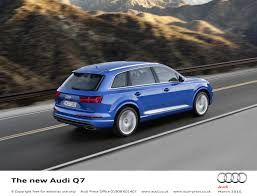 audi q7 contract hire uk customers can take comfort in the audi q7 from april